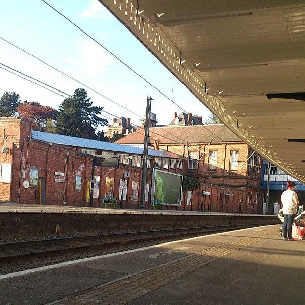 Sutton Coldfield Railway Station (SUT) - Train Station