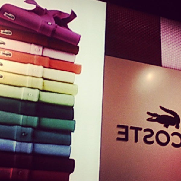 9fed10dd26174 Photo taken at Lacoste Outlet by Alex G. on 5 28 2015
