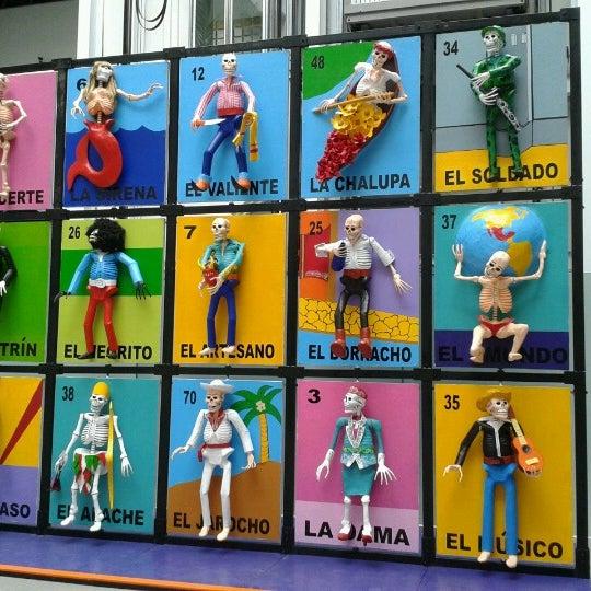Снимок сделан в Museo de Arte Popular пользователем Luz M. 11/3/2012