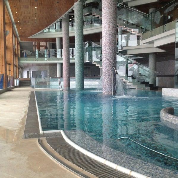 รูปภาพถ่ายที่ Sport Hotel Hermitage & Spa โดย Sara เมื่อ 3/18/2013