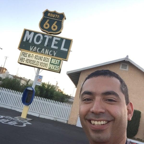 Foto diambil di Route 66 Motel oleh Gustavo A. pada 5/29/2015