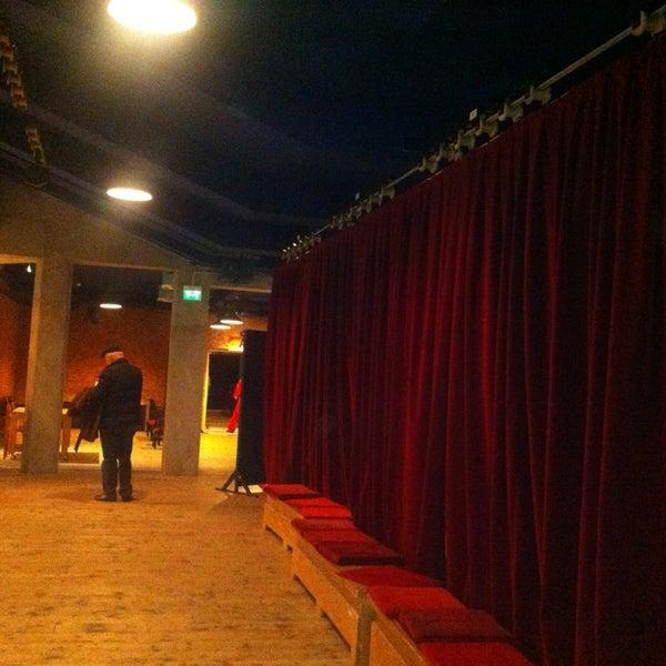 Снимок сделан в Teatro Franco Parenti пользователем Roberta B. 2/14/2013