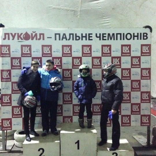 Снимок сделан в Картинг-центр «Блокбастер» пользователем Vladislav 1/12/2013
