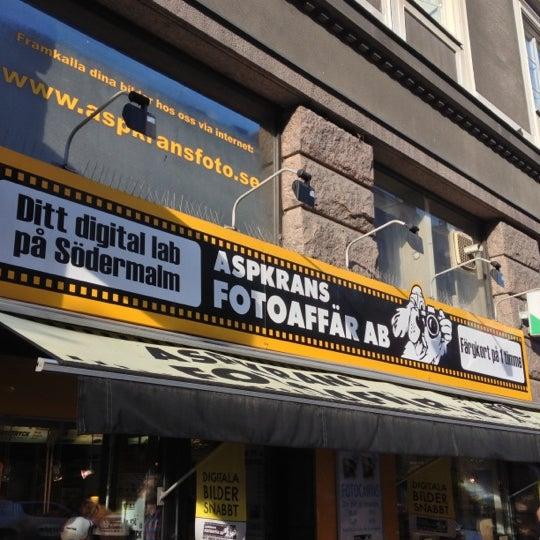 framkalla bilder snabbt stockholm