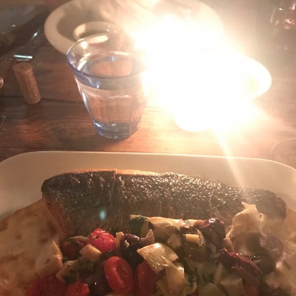 Worth a trip to Bklyn. Cozy, laid back atmosphere with rustic, plain good food. I enjoyed the branzino and we had meatballs and bruschetta to start. Would recommend all.
