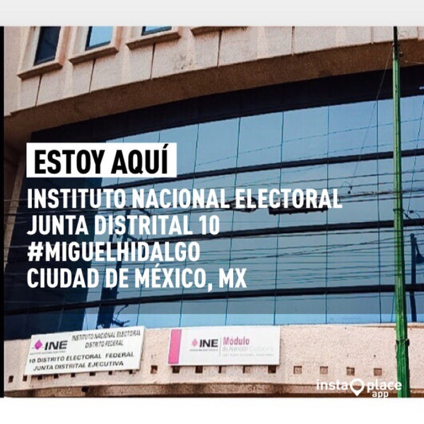 Módulo Ine Miguel Hidalgo Edificio Gubernamental En Ciudad