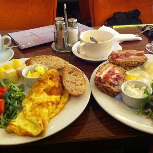 Мое любимое место завтрака!)