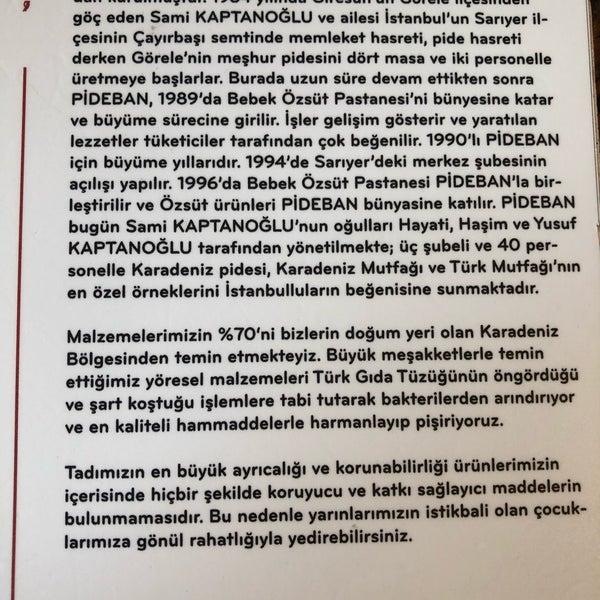 รูปภาพถ่ายที่ Pide Ban โดย Ümit G. เมื่อ 8/25/2019