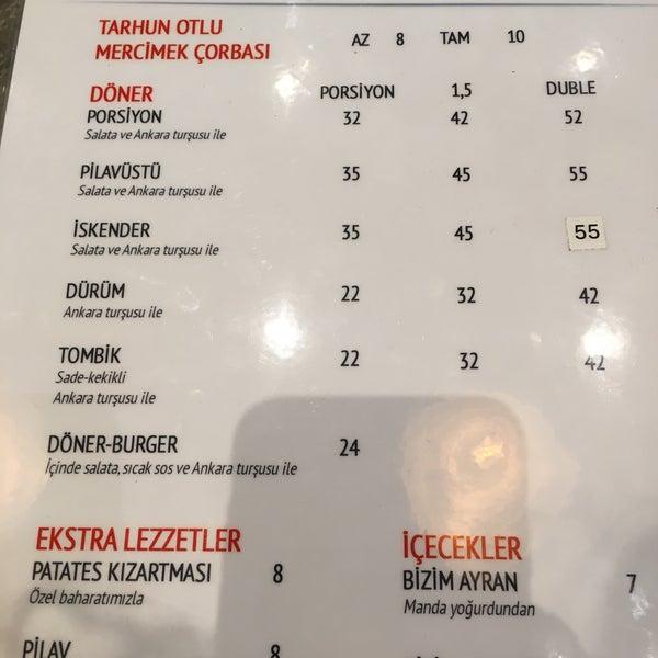 Снимок сделан в Lezzet Co. Döner пользователем Mrv 10/27/2018