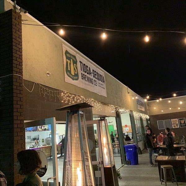 12/7/2019 tarihinde Seth C.ziyaretçi tarafından Tioga-Sequoia Brewing Company'de çekilen fotoğraf