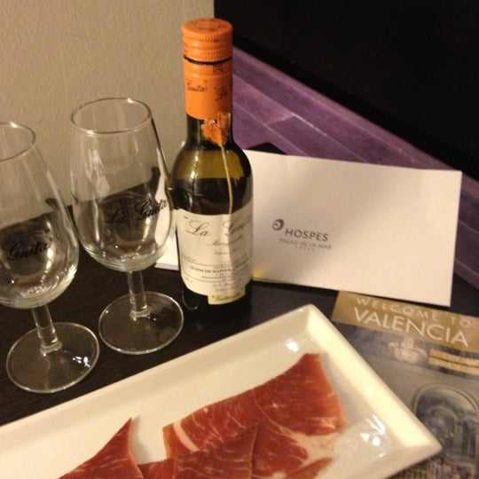 Photo prise au Hotel Hospes Palau de la Mar***** par Andri le11/17/2012