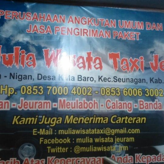 Cv Mulia Wisata Taxi Jeuram Banda Aceh Medan Pp Kuta Baro