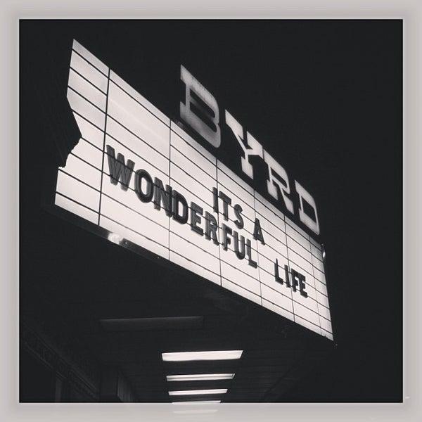 Photo prise au The Byrd Theatre par Will F. le12/27/2012