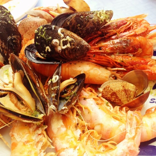 Das Foto wurde bei Restaurante Salamanca von Andre L. am 9/23/2012 aufgenommen