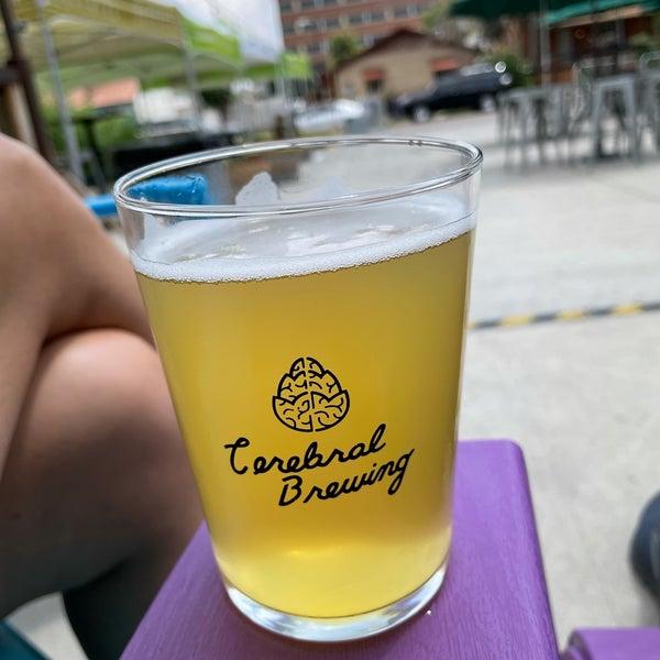 Photo taken at Cerebral Brewing by Brandon K. on 7/1/2021