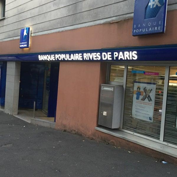 Banque Populaire Rives De Paris Bank In Arcueil