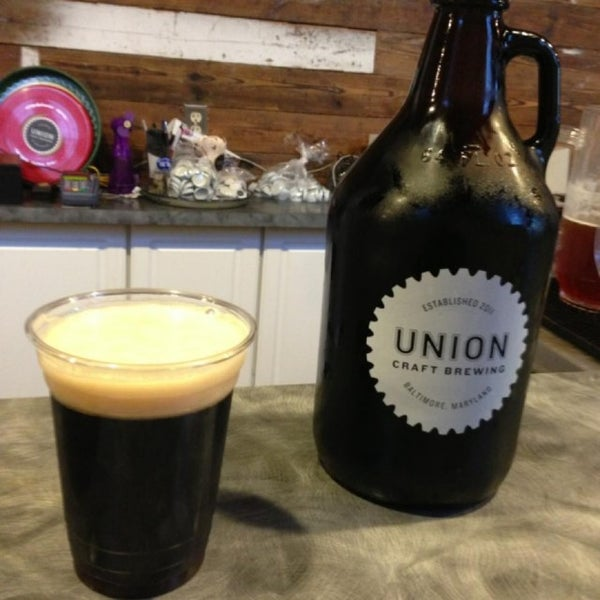 Photo taken at Union Craft Brewing by Brittany W. on 5/11/2013