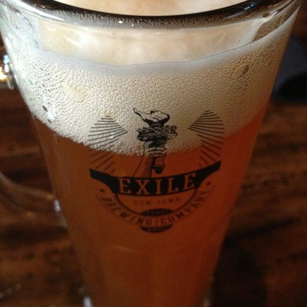 Das Foto wurde bei Exile Brewing Co. von Thomas R. am 7/29/2013 aufgenommen