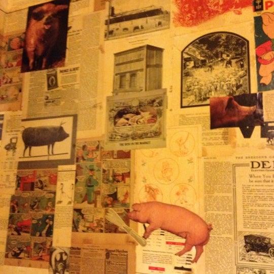 Снимок сделан в The Pig пользователем Elaine C. 11/15/2012