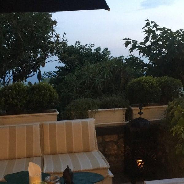 Снимок сделан в Capri Tiberio Palace пользователем M.F ~. 8/19/2018