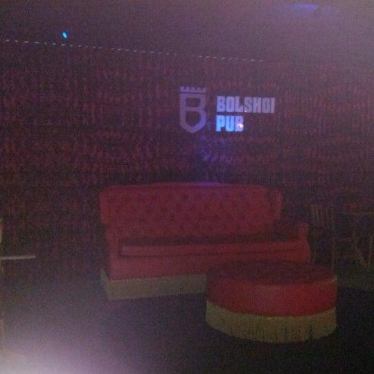 1/25/2013 tarihinde Robson C.ziyaretçi tarafından Bolshoi Pub'de çekilen fotoğraf