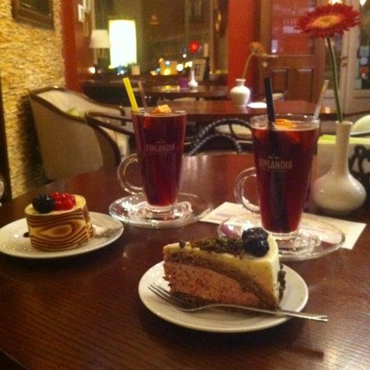 Photo taken at Tea & Coffee garden by Līva M. on 11/15/2012