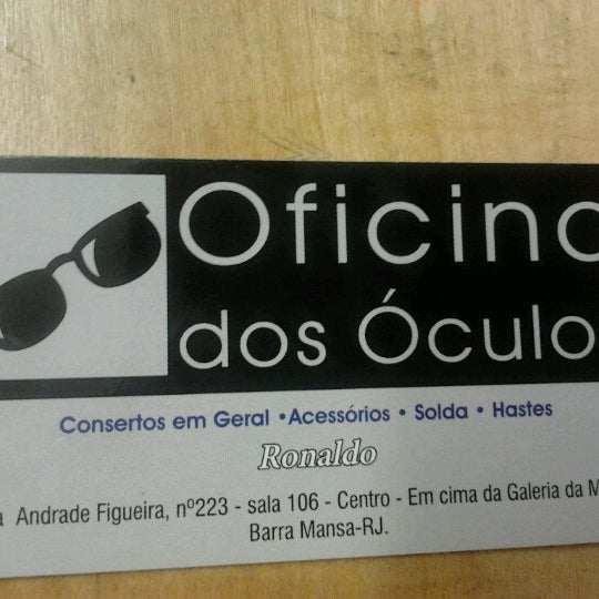 64282fdf427c2 Oficina do Óculos - Barra Mansa, RJ