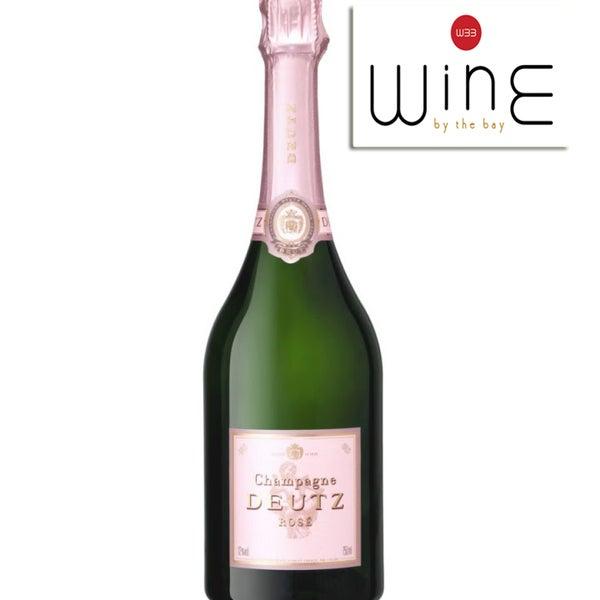 Wine of the Week: Deutz Brut Rosé Champagne. Stop by or order it online @ www.winebtb.com. $68.95 This week's wine tasting classes: Tues - Piedmont; Wed - #Veneto; Thurs - Italian Favorites. RSVP