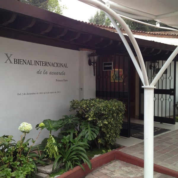 """รูปภาพถ่ายที่ Museo Nacional de la Acuarela """"Alfredo Guati Rojo"""" โดย Alejandra A. เมื่อ 1/5/2013"""