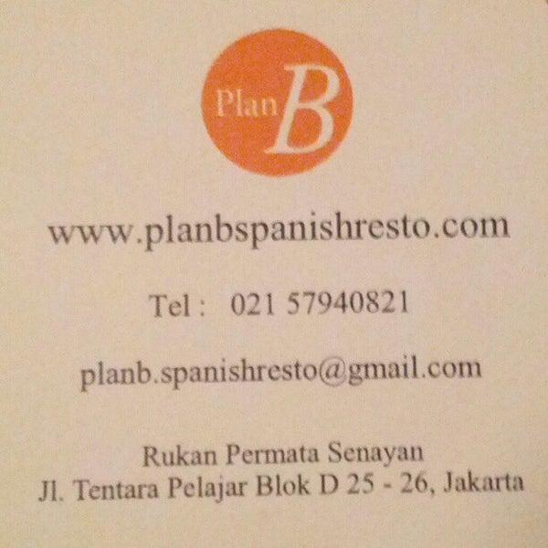 รูปภาพถ่ายที่ Plan B Spanish Resto โดย Jose Luis M. เมื่อ 1/12/2013
