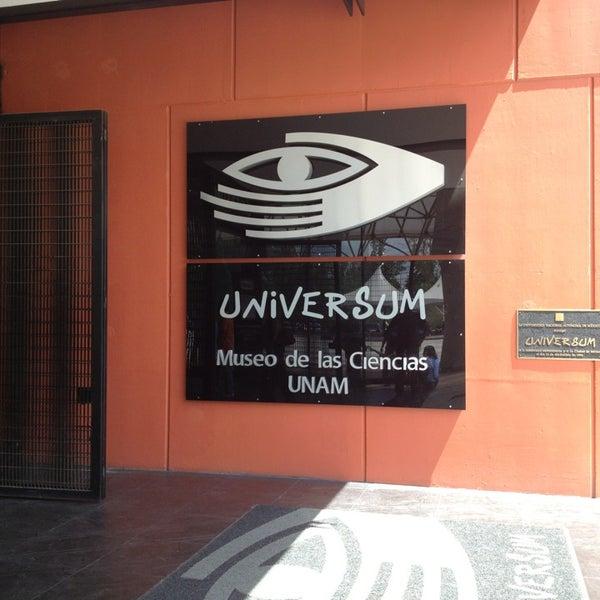 รูปภาพถ่ายที่ Universum, Museo de las Ciencias โดย Ely B. เมื่อ 6/2/2013