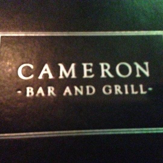 Photo prise au Cameron Bar & Grill par Johnnie B. le12/10/2012
