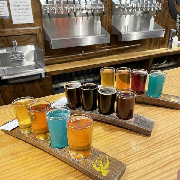 Photo taken at Martin House Brewing Company by Bethany B. on 10/6/2021