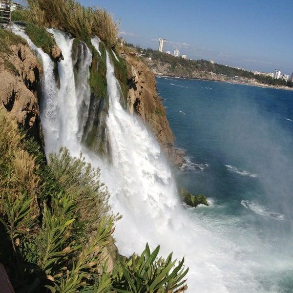 4/10/2013 tarihinde Basak K.ziyaretçi tarafından Düden Şelalesi'de çekilen fotoğraf
