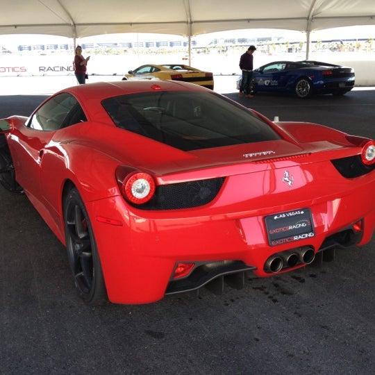 Снимок сделан в Exotics Racing пользователем Brian G. 10/23/2012