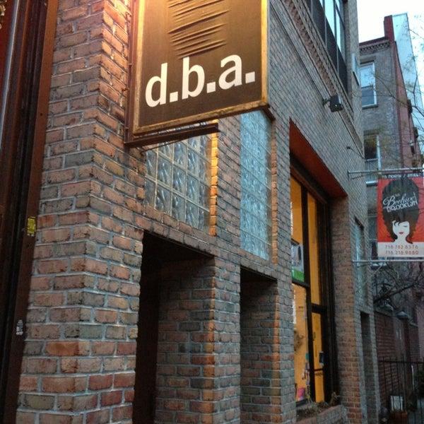 Foto diambil di d.b.a. Brooklyn oleh CarlosT1 pada 1/30/2013