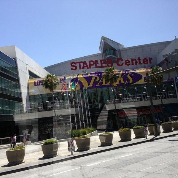6/21/2013 tarihinde Sama S.ziyaretçi tarafından STAPLES Center'de çekilen fotoğraf