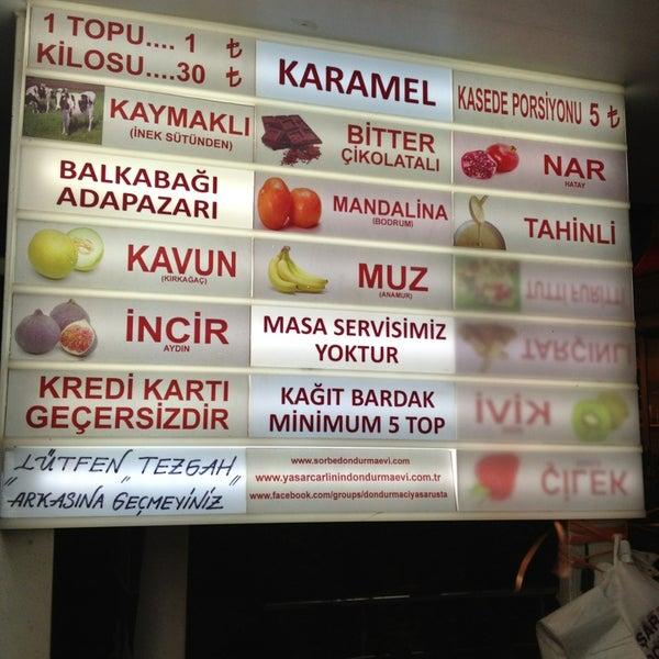 Foto tirada no(a) Dondurmacı Yaşar Usta por abram e. em 12/29/2012