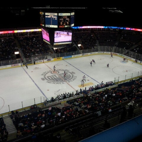 10/18/2012 tarihinde Brett C.ziyaretçi tarafından Northlands Coliseum'de çekilen fotoğraf