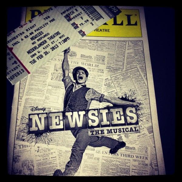 2/27/2013にKelsey V.がNederlander Theatreで撮った写真