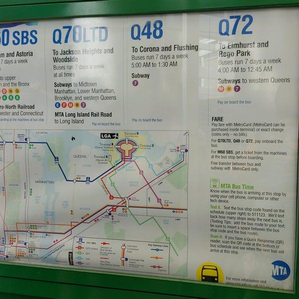 Photos at MTA Bus - LGA Internal Roadway & Terminal B (M60/Q48/Q70 on