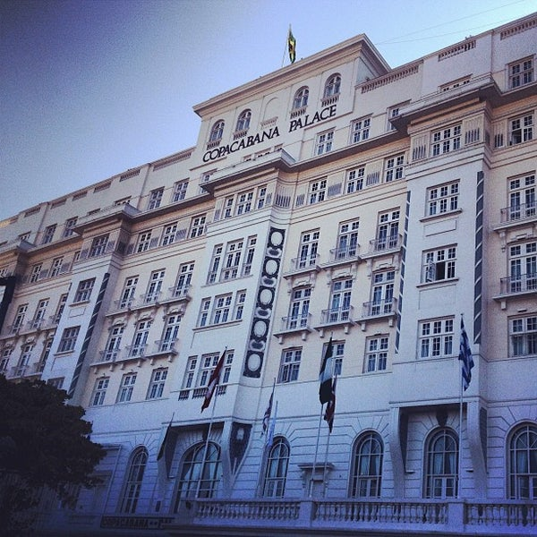 Das Foto wurde bei Belmond Copacabana Palace von Rapha G. am 5/3/2013 aufgenommen