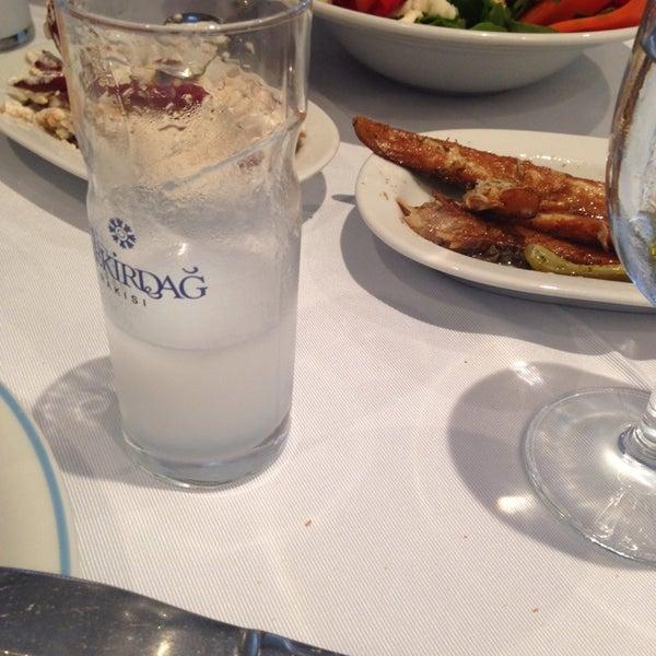5/15/2014에 Sezgin G.님이 Cunda Balık Restaurant에서 찍은 사진