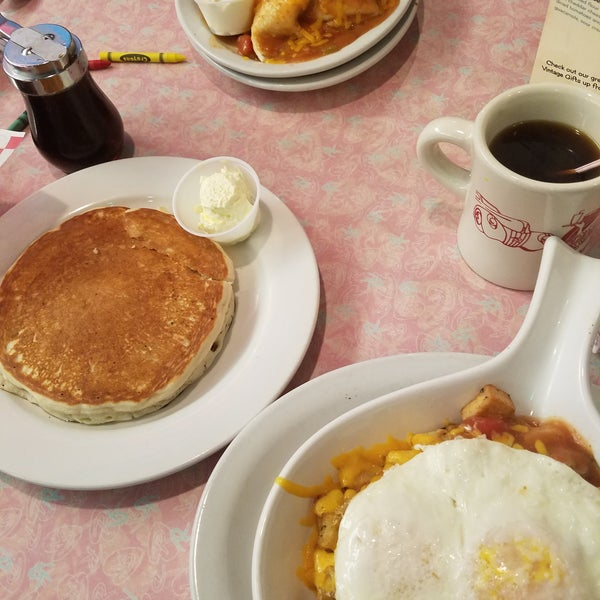 Everything I've ever tried here is amazing... I Love the Skillets and Pancakes!... Me and my boyfriend started coming about 6 months ago and now we come once a week and they Always remember us!...