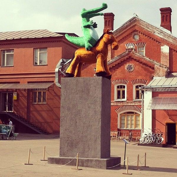 5/17/2013 tarihinde Nadi G.ziyaretçi tarafından Winzavod'de çekilen fotoğraf