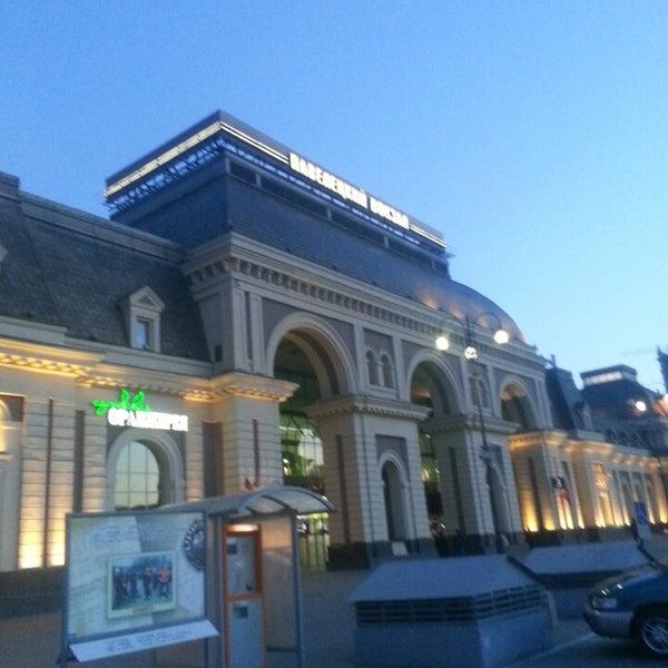 Где можно сделать фотографии на павелецком вокзале