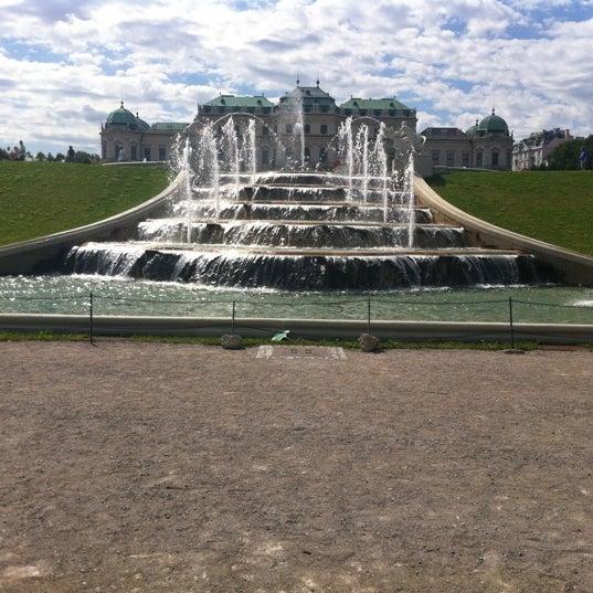 8/7/2012 tarihinde Эдуард Х.ziyaretçi tarafından Oberes Belvedere'de çekilen fotoğraf