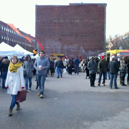 Foto tirada no(a) South End Open Market @ Ink Block por Kate H. em 10/30/2011