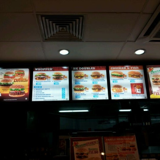 Burger King - Lot 1, Ground Floor, Blok A, Damai Plaza