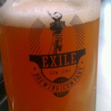 Das Foto wurde bei Exile Brewing Co. von Benjamin W. am 8/26/2012 aufgenommen